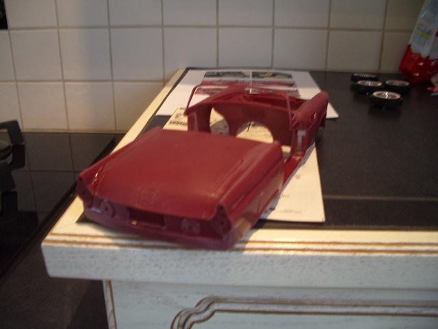 ford thunderbird 1955 au 1/16 de chez amt  3683471308
