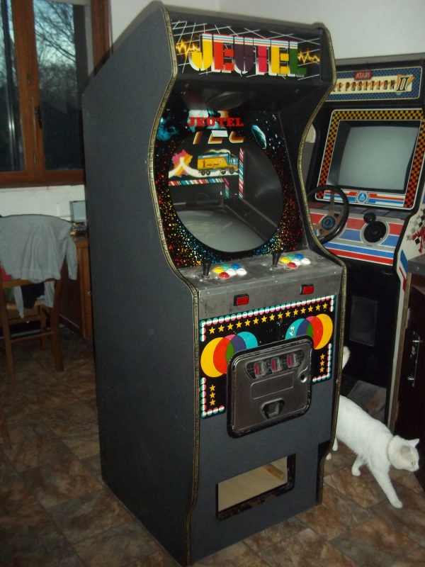 borne arcade taille ecran