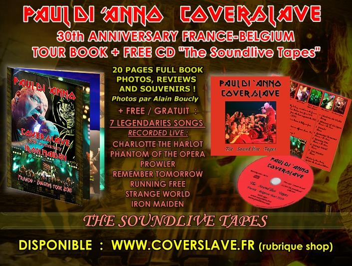 PAUL DI 'ANNO - TOURNEE D'ADIEU+COVERSLAVE  11/2013 369244TourbookPaulDiAnnoCoverslaveThesoundlivetapespromo2013