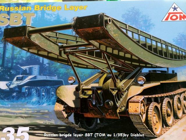 Russian brigde layer SBT (TOM MODELLBAU) 1/35 369311SBT004