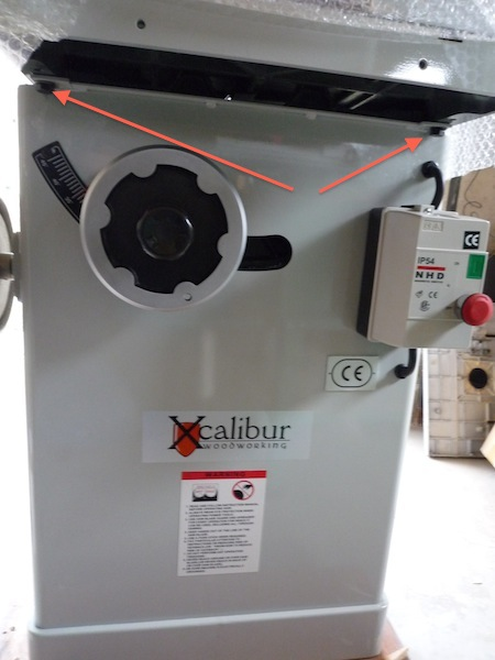 xcalibur - Xcalibur Cabinet saw en UK 369599Xcalibur3copie