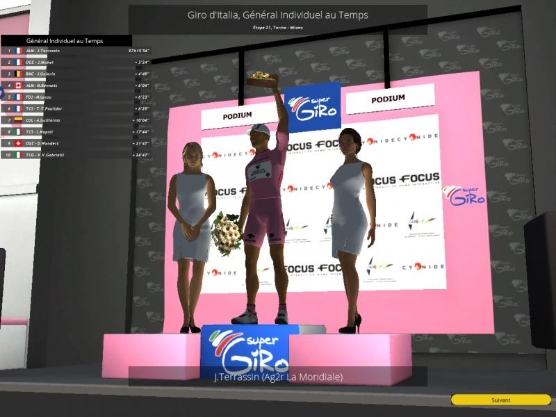 Giro - Tour d'Italie / Saison 2 369638PCM0005