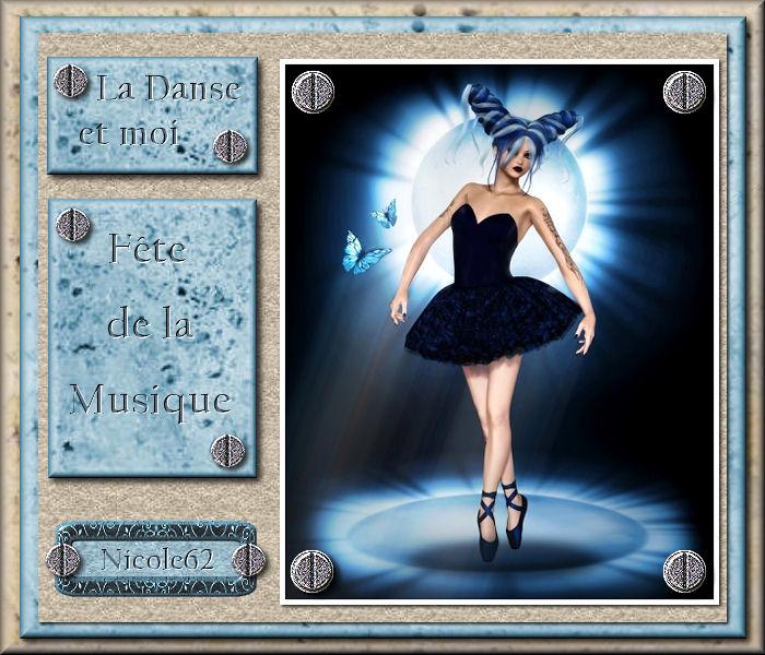 """41 """"La danse et moi """" tuto de vannades cré@ 369873534323Ladanseetmoi"""