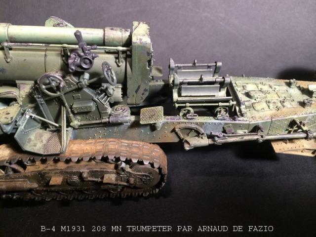 un B-4 M1931 203 mn (le marteau de Staline trumpeter 1/35 370022B41008