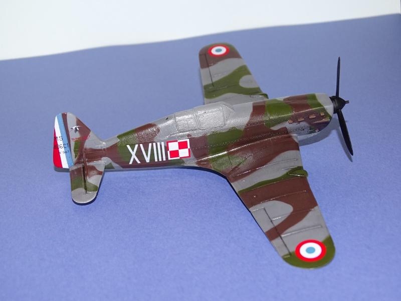 Morane Saulnier MS 406 GC I/2 Damblain Sgt Antoni Beda Avril 1940 370609DSC01741