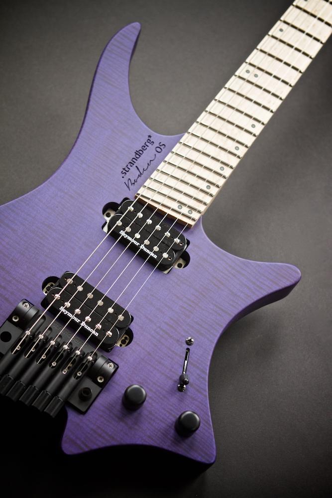 Ah les Suédoises..... Strandberg Boden OS6 Trans purple 371238976