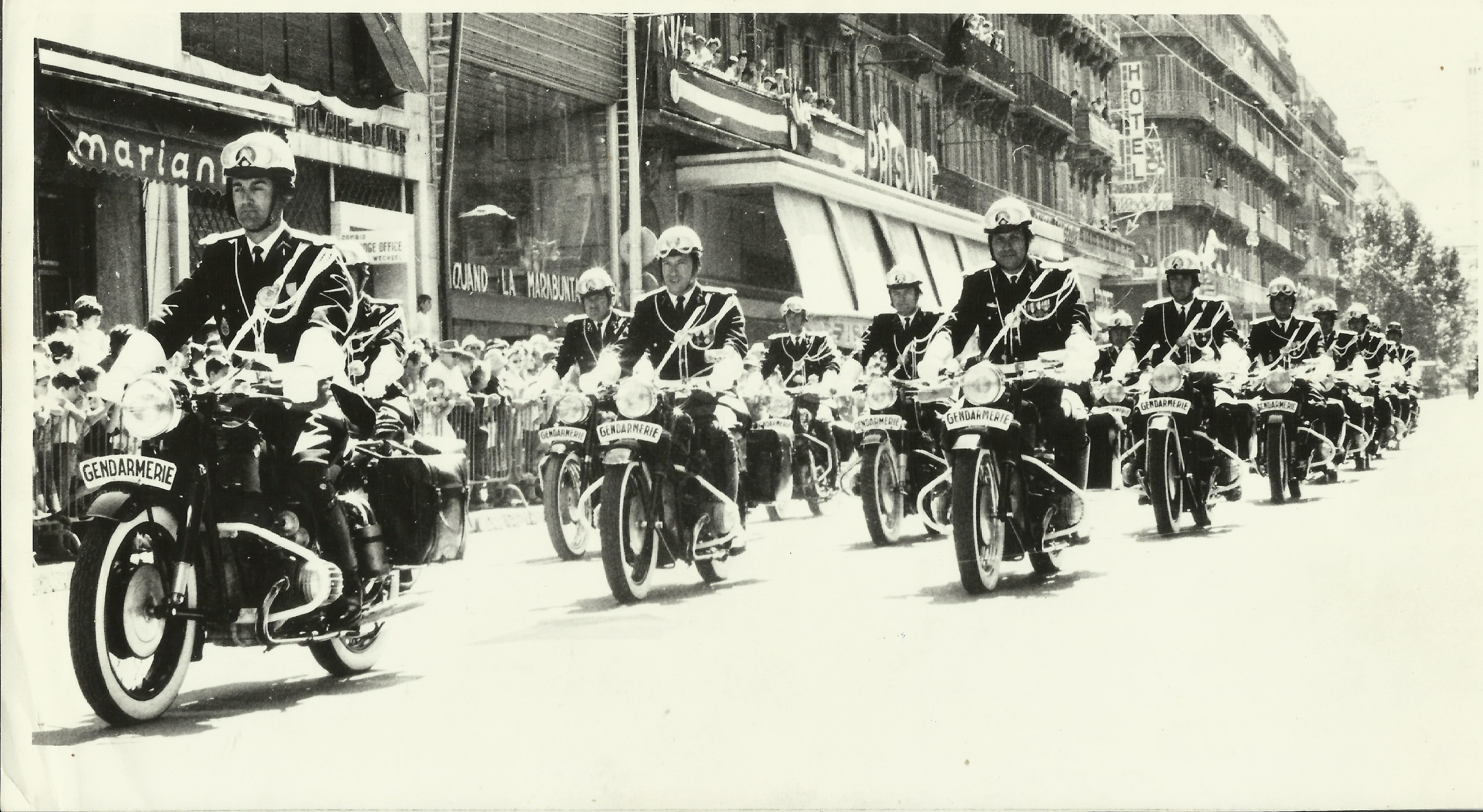 Photos Gendarmerie, BMO de Hyeres  années 1960 372777BMO001