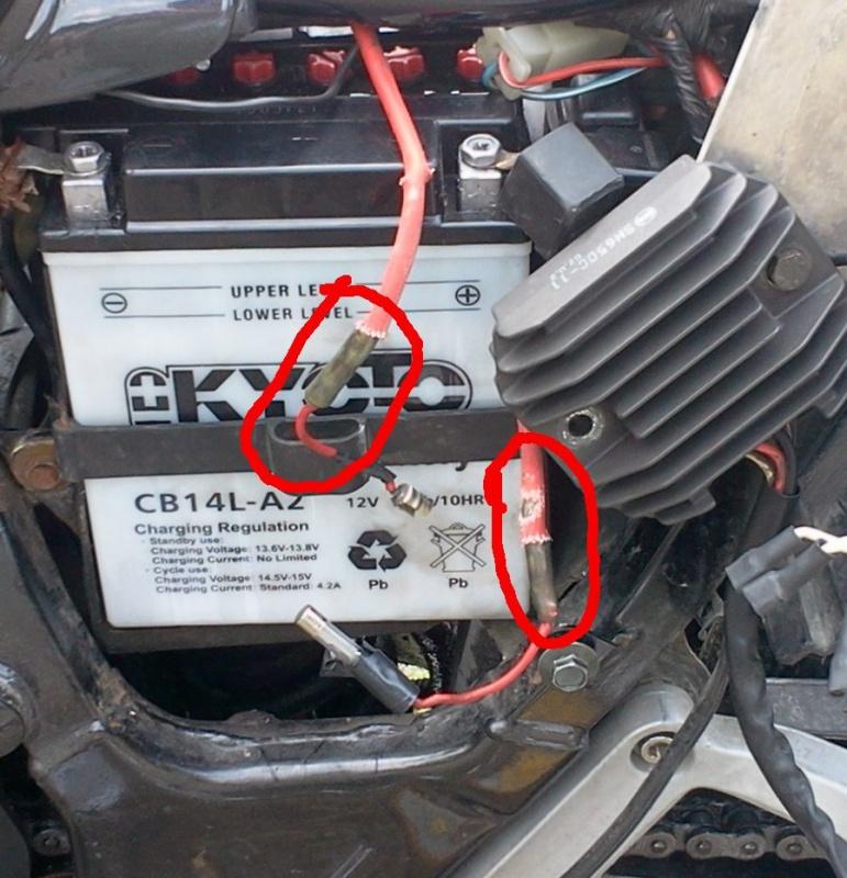 Schema Elettrico Xtz 750 : Problème électrique à l accélération et au démarrage page