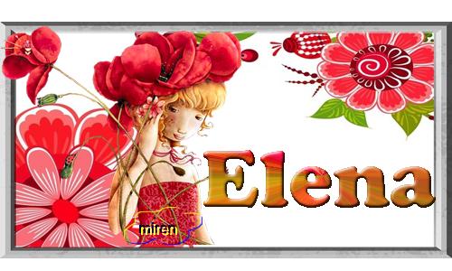 Nombres con E 373287Elena