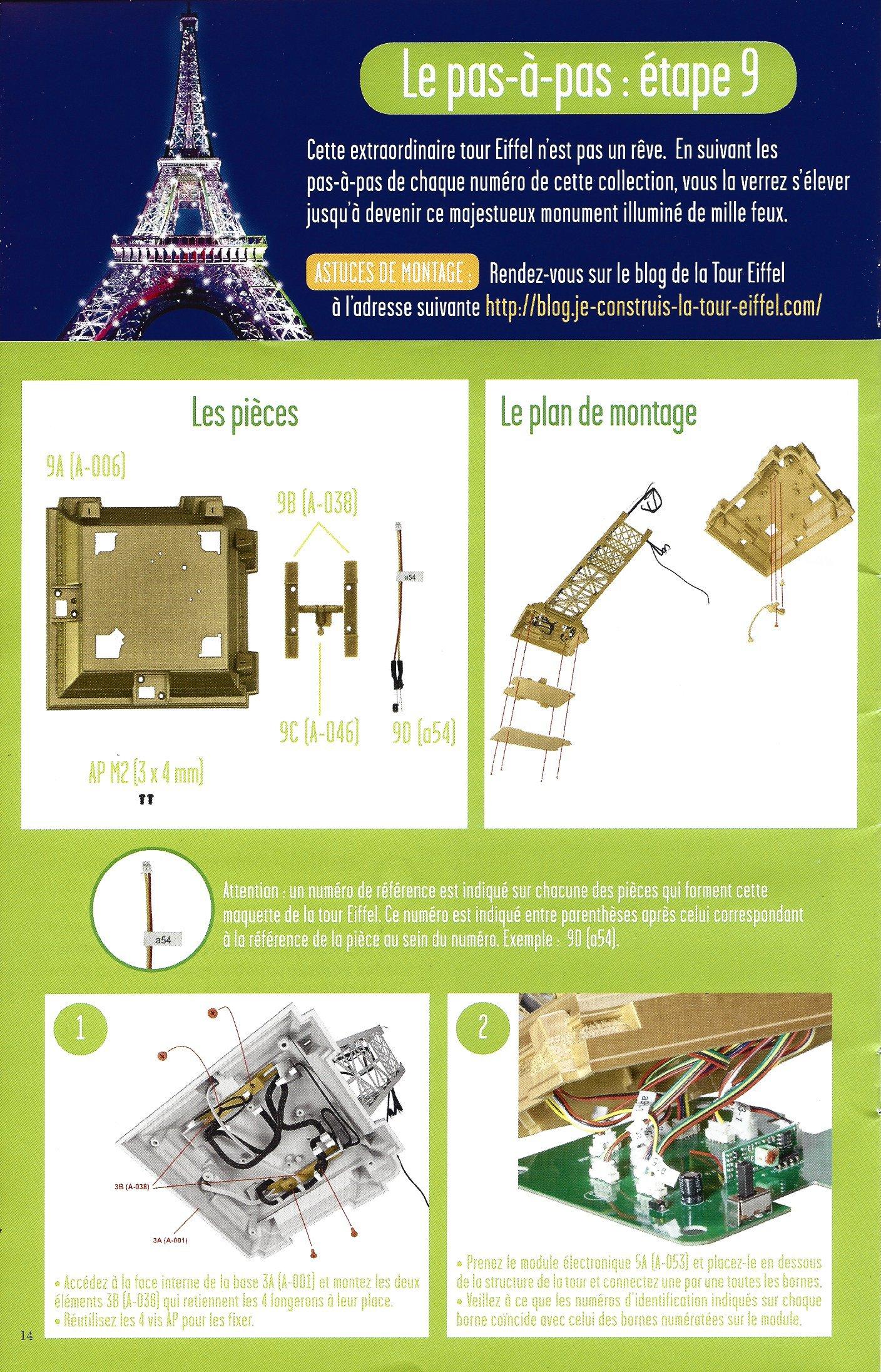 Numéro 9 - Je construis la Tour Eiffel - Panorama des Expos universelles 37369709b