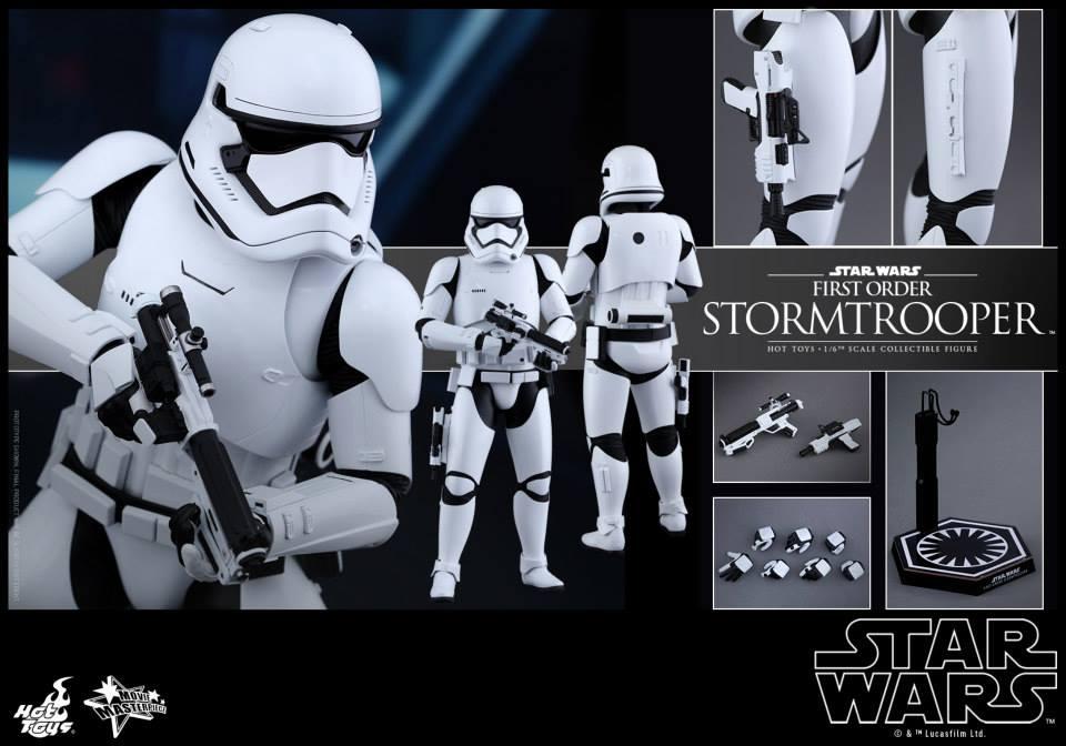 HOT TOYS - Star Wars: TFA -  First Order Stormtrooper 373710107