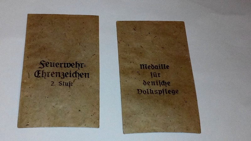 Paperasse panzerfaust,SA,sachet medaille 373970IMG20160121182920