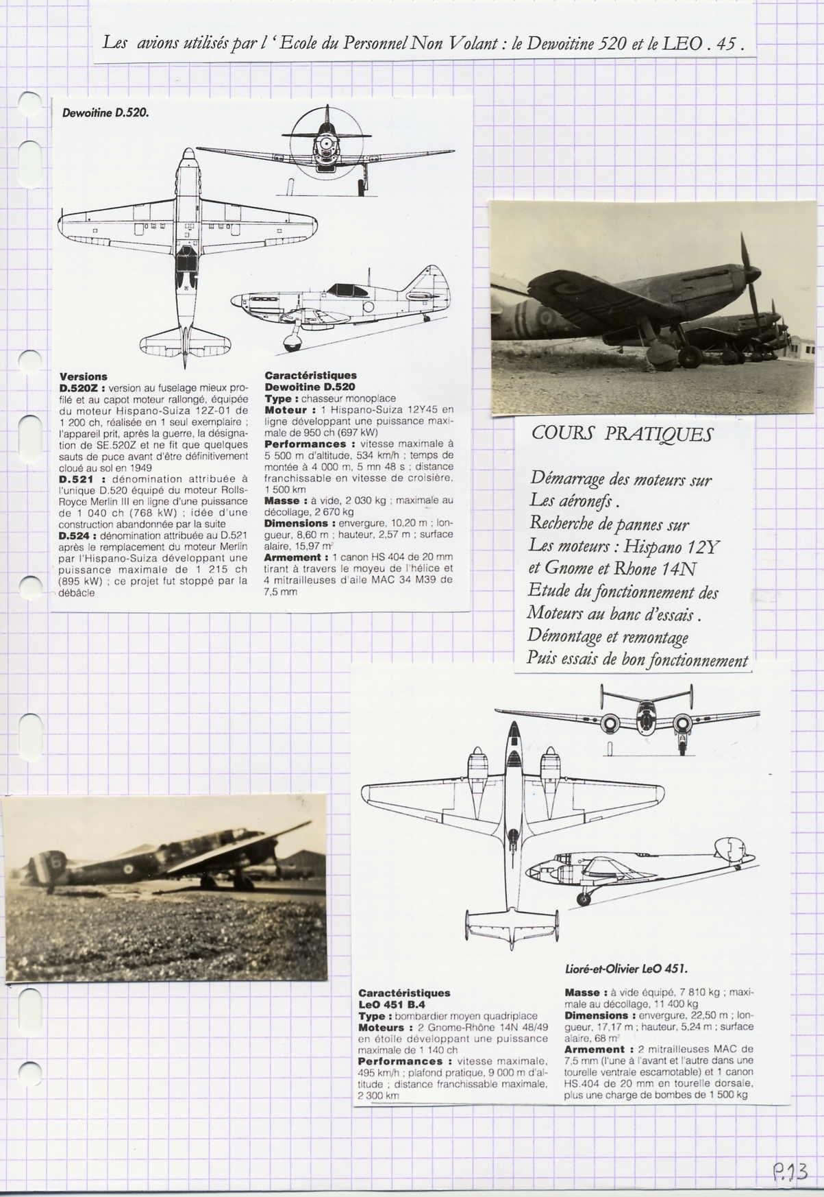 [La spécialité de...] Mécanicien aéronautique (Sujet unique) - Page 3 374708P131