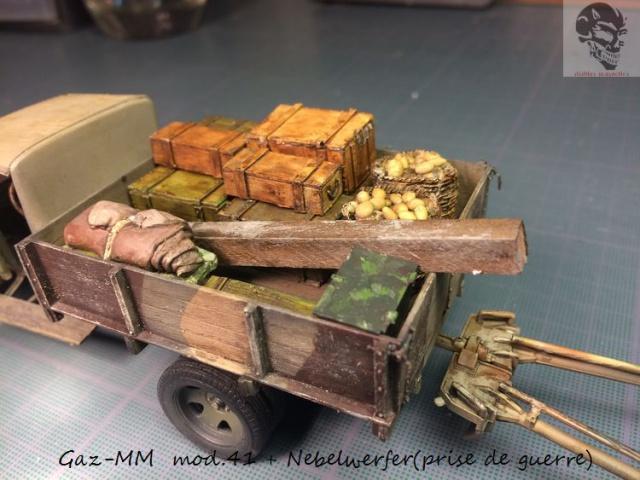 Gaz-MM mod 41 et Nebelwerfer (prise de guerre) - MiniArt + Dragon - 1/35 376029IMG5075