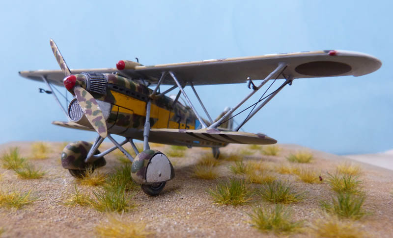 Fiat CR 32 de l'Aviation Légionnaire - Italeri (Upgrade ex Supermodel) 377256CR3277