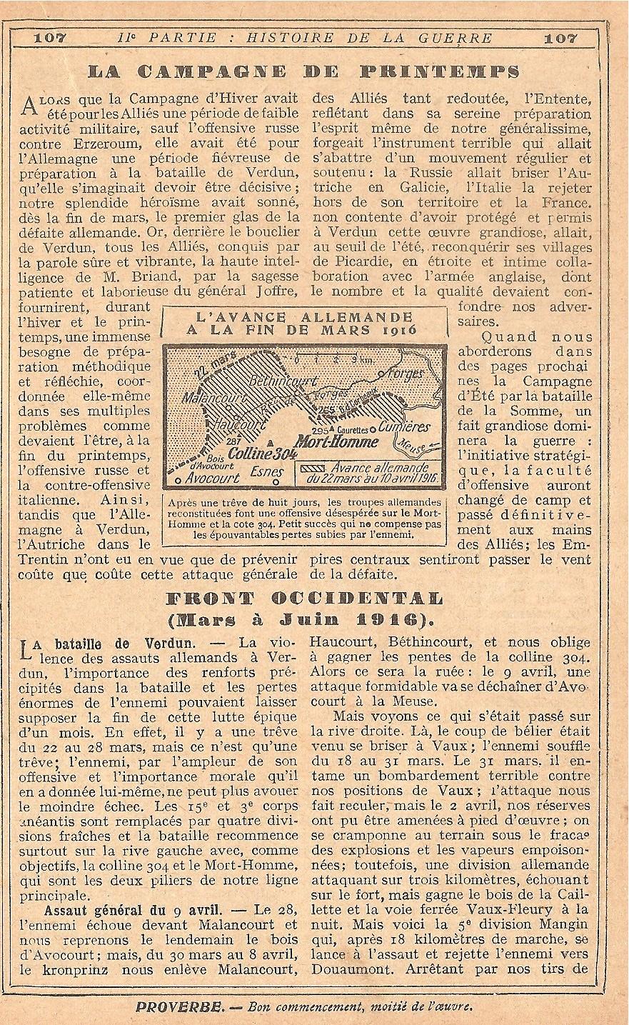 [HISTOIRES ET HISTOIRE] [SUJET UNIQUE] LE CENTENAIRE DE LA GRANDE GUERRE - Page 5 378372Verdun10