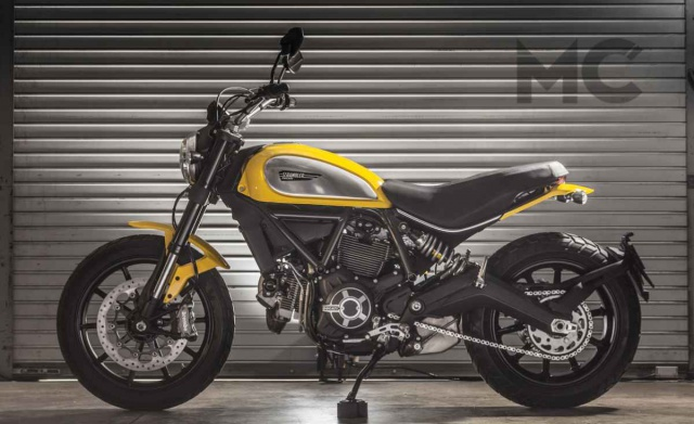 La nouvelle Ducati Scrambler est là.... - Page 2 378708ducscram011