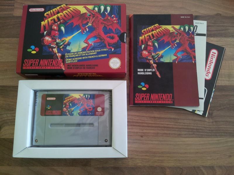 Prupru's Collection ! 100% Super Nintendo et 200% Super Comboy !! - Page 12 380939Metroid