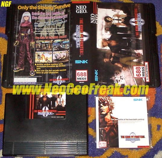 Liste Officielle des jeux Us sortis sur Neo-Geo AES 380988KoF2000