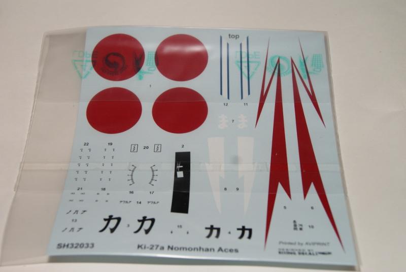 nakajima Ki-27 nomonhan aces special hobby 1/32 381148ki2709