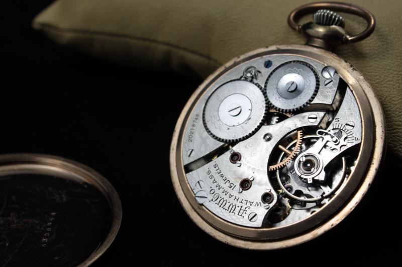 L'histoire des manufactures américaines ...A la conquête de l'Ouest Horloger 382000IMG7169