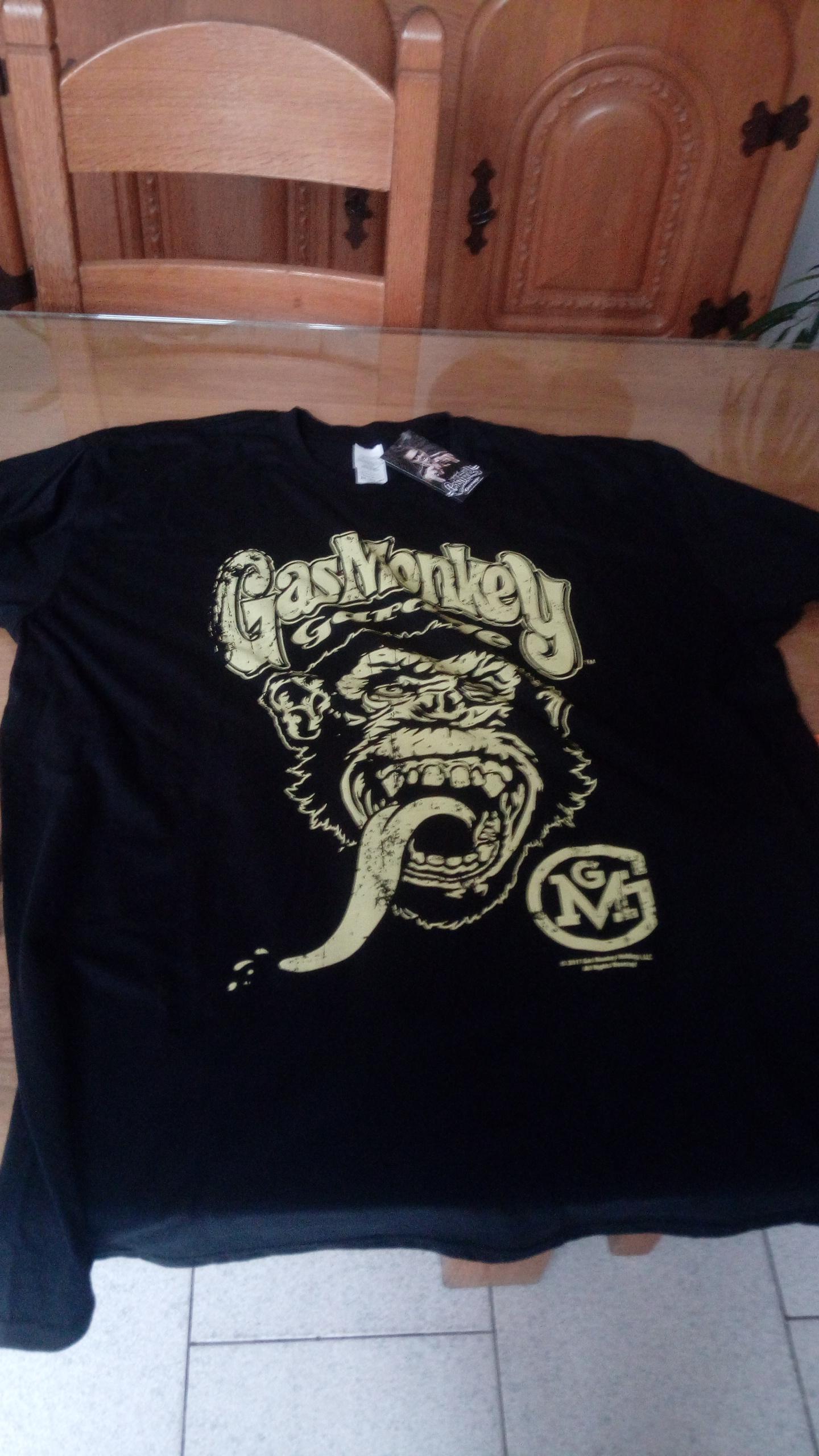 tshirt Gaz Monkey  382053IMG20180106134603