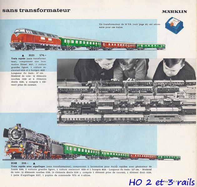 Coffrets Märklin 1936 - 1968 (rouges, noirs, verts ou bleus) 383181Marklincatalogue19624R