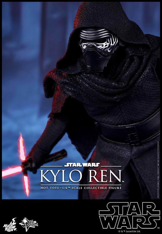 HOT TOYS - Star Wars: TFA - Kylo Ren 384110114