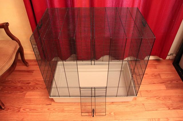 Vends cage Freddy Max 2 + cage Ruffy 2 384467grandecage1