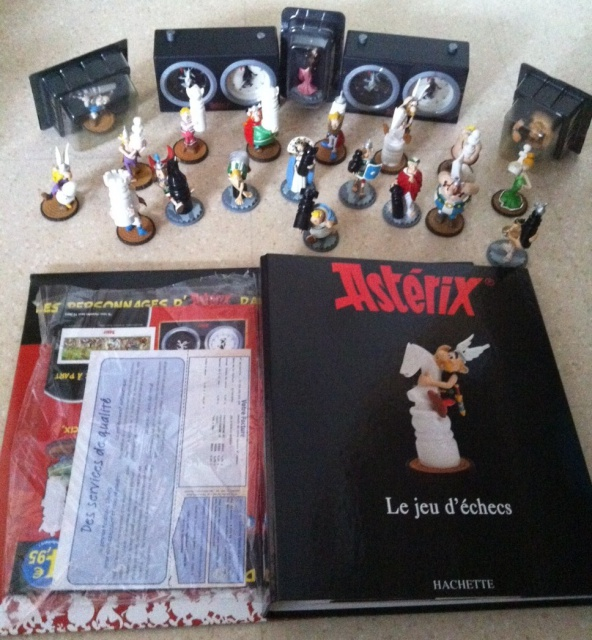 [Vente] puzzles, lot pièces échec asterix 384879chec