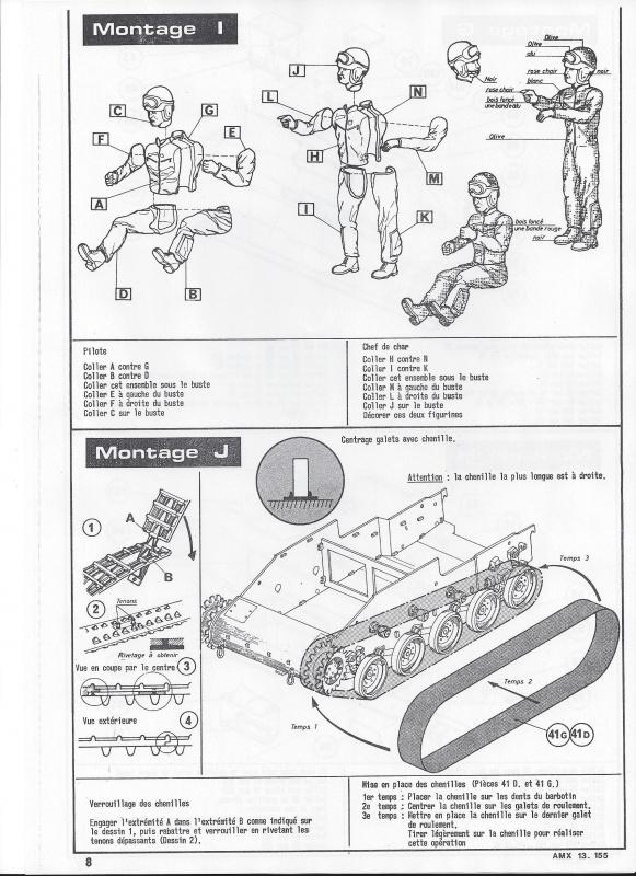 AMX 13 canon de 155 - (Réf. L782) 1/35 386570AMX13155782009Heller135