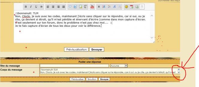 """Partie """"corps du message"""" trop petite pour écrire 387586iulia"""