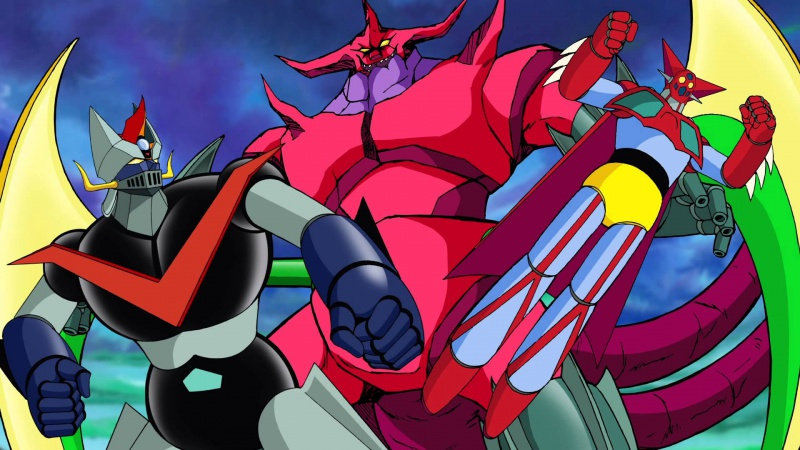 Collection des films Mazinger (3) : Great Mazinger et Getter Robot contre le monstre sidéral 387626greatgetter