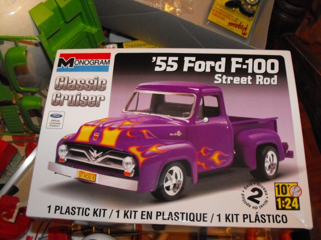 Ford F100 '55 lowrider greenfire (Terminé) 387870f1002