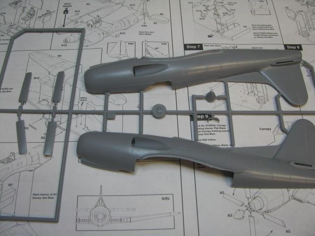 Ryan XF2R-1 Dark Shark Czech Model 1/48.....Terminé! 388380IMG8398