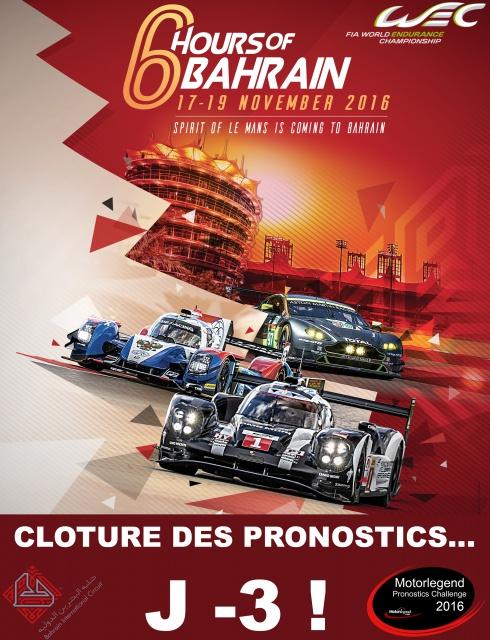 Motorlegend Pronostics Challenge 2016 - Page 3 388648AfficheWECBahrainA4DEFH1D