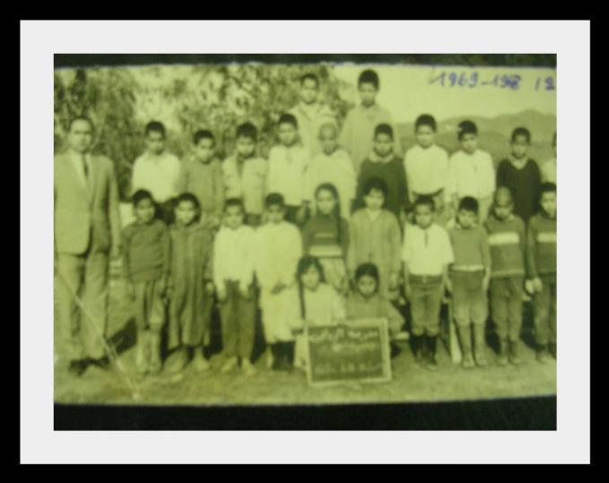 مدرسة الزواقين : صور قديمة لأطر التدريس  والتلاميذ في  الستينيات  38916845z2