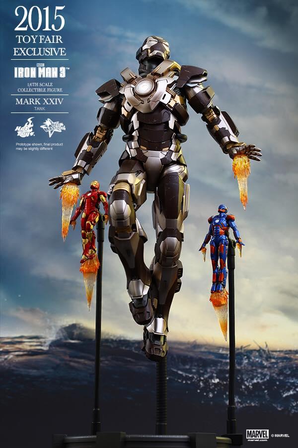 HOT TOYS -  Iron Man 3 - Tank (Mark XXIV) TF2015 390044101
