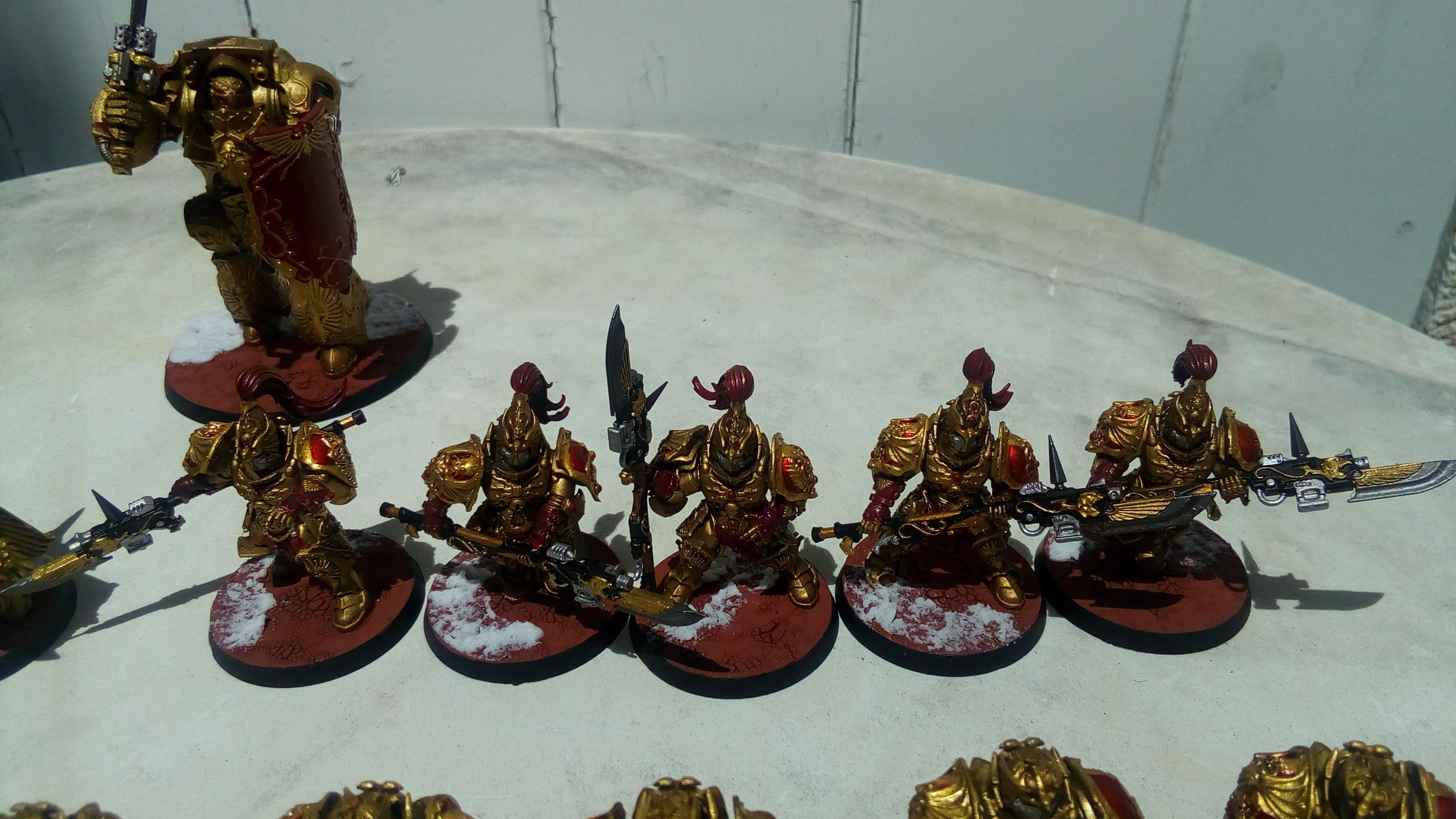 Les Armées de Nico. (Battle & 40K) 390303827