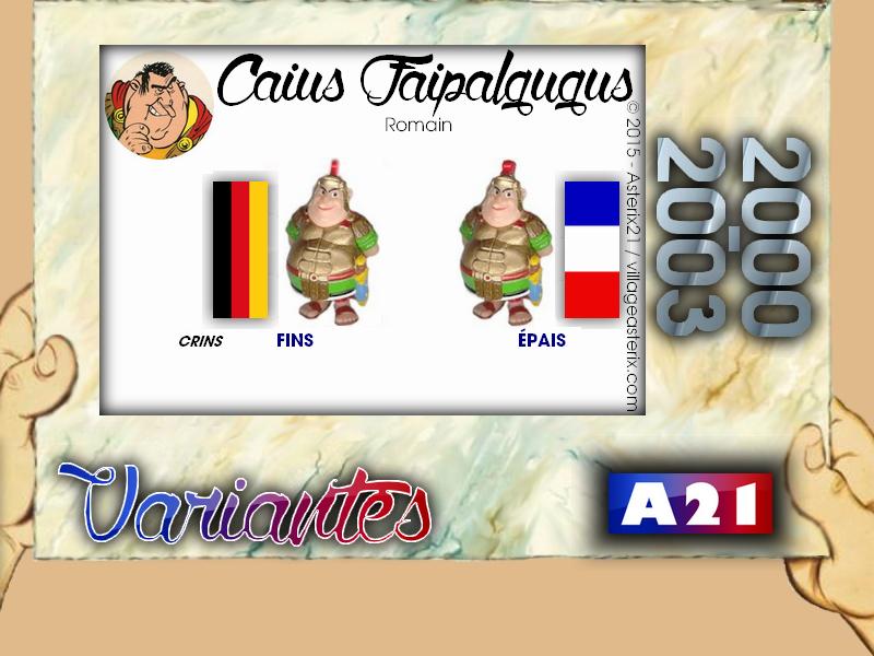Astérix® les Variantes d'Hier et d'Aujourd'hui [Le Catalogue] 390832MarbreVariantesKinder20002003CaiusFaipalgugus