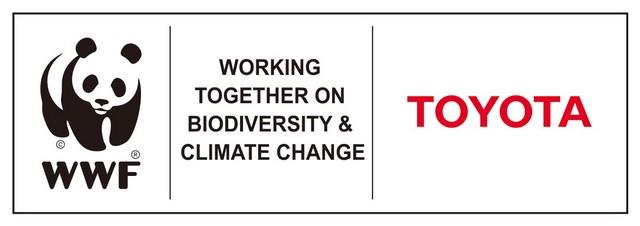 Le WWF Et Toyota, Partenaires Dans La Protection Des Forêts Asiatiques Et La Lutte Contre Le Chagement Climatique 391010WWFTOYOTApartnershiplogoEnglish