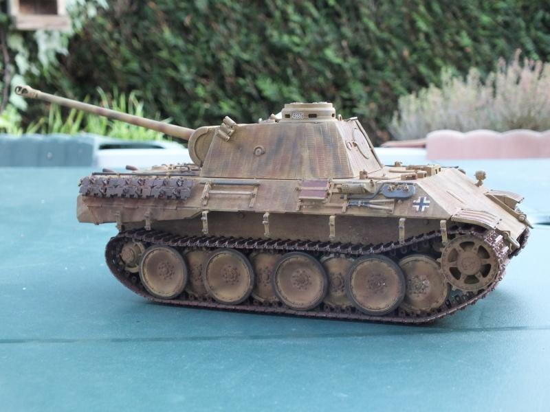 Panther Ausf D Dragon 1/35 avec Zimmerit réf. 6428 (FIN  DE PATINE , finitions lors de la  mise en place sur Dio) - Page 3 391153DSCF7087