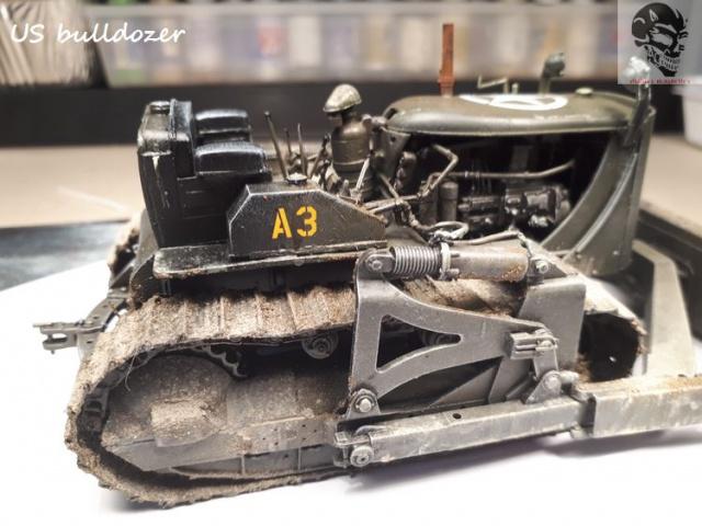 US Army bulldozer (Miniart 1/35) 39163920170622142205