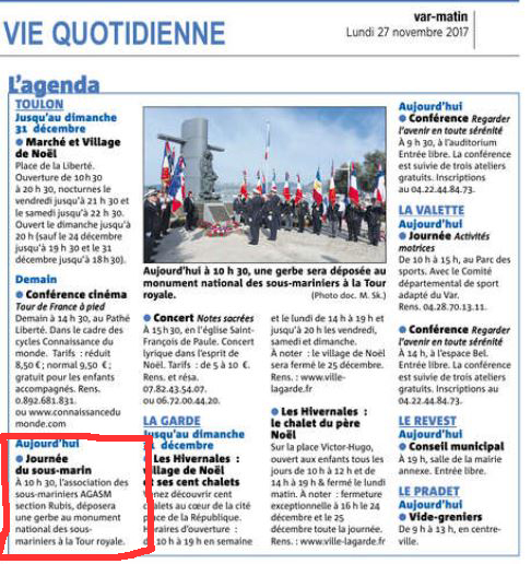 [Association anciens marins] AGASM section RUBIS (TOULON) - Page 7 39171351VM