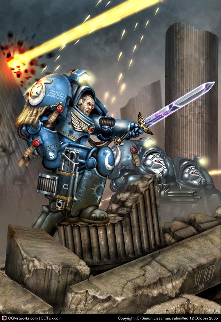 [W40K] Collection d'images : Space Marines 392409CaptainUltramarine2