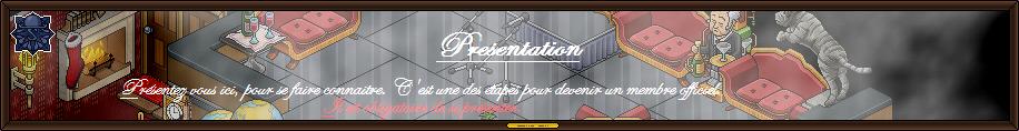 <center>Presentation</center>