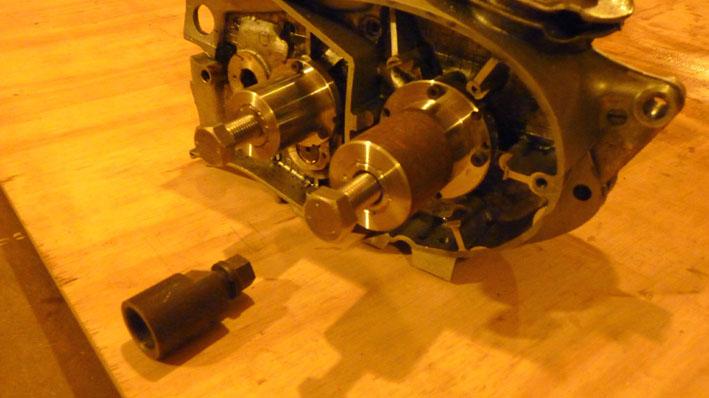 MZ 125 TS changement de roulements d'une MZ 125TS 393127P1030101