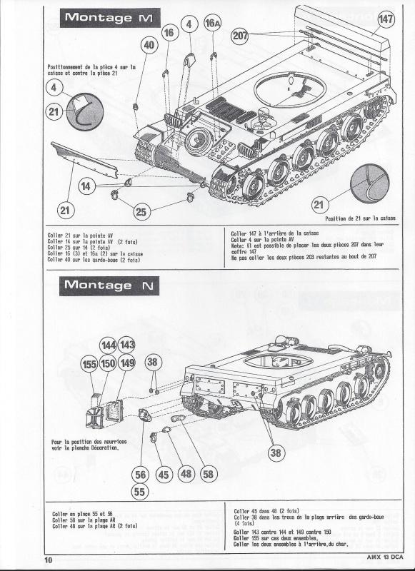 AMX 13 DCA - (Réf. L783) 1/35  393729AMX13DCA783011Heller135