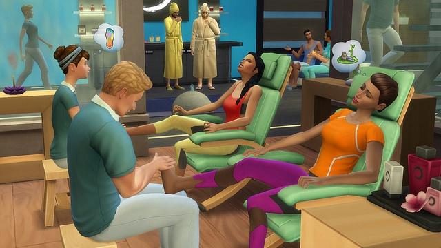 Les Sims 4 Pack de Jeu : Détente au Spa - Sortie le 14 Juillet 39433319319101165a19e6de5faz