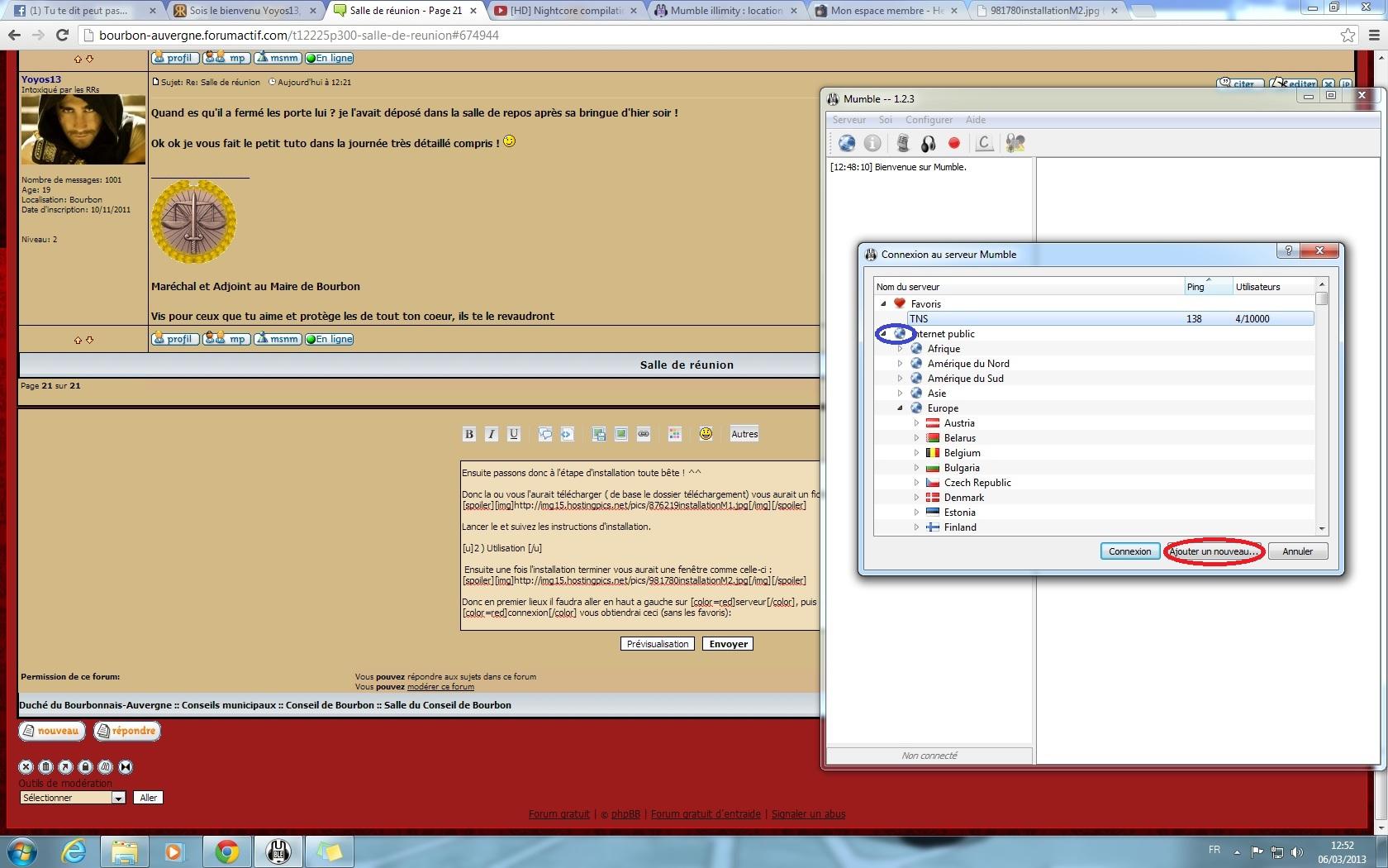 Installer et configurer mumble 394640installationM3